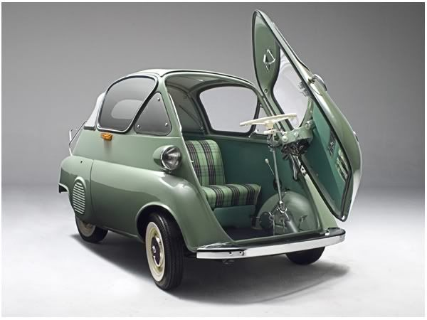BMW Isetta, электрокар