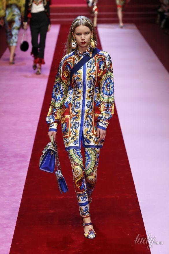 Коллекция Dolce&Gabbana прет-а-порте сезона весна-лето 2018_62