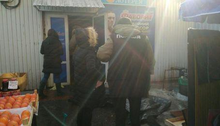 """Оператор лотерей відхрестився від кривавого конфлікту за кіоск біля """"Берестейської"""" в Києві"""