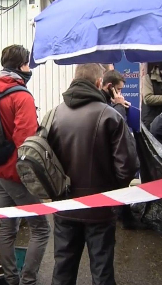 В результате перестрелки возле метро Берестейская погиб человек