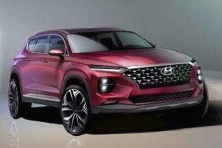 Hyundai показав приголомшливі зображення нового Santa Fe