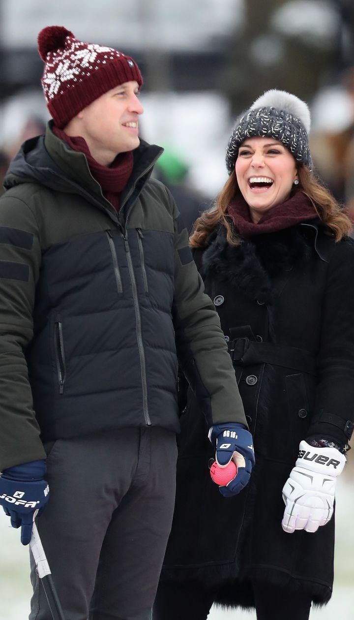 Герцогиня Кембриджская и принц Уильям в Швеции