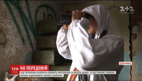 Боевики ведут провокационный огонь по украинским позициям