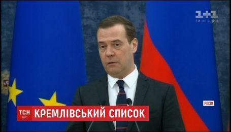 Російські олігархи та кремлівські чиновники опинилися під загрозою санкцій від США