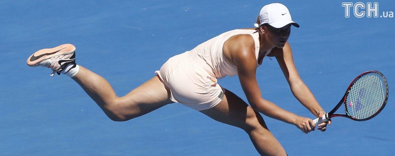 Українка Костюк вийшла до чвертьфіналу тенісного турніру у Китаї