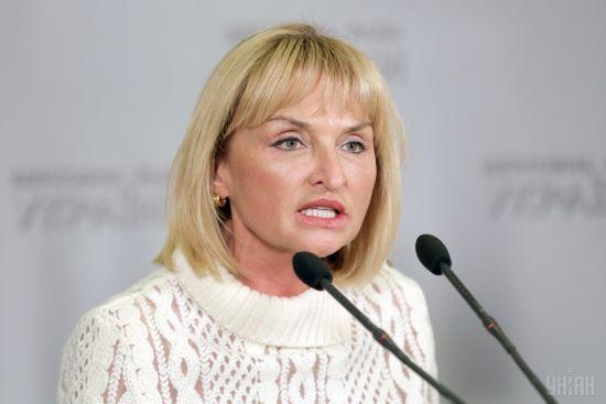 Ірина Луценко подала заяву про звільнення з посади представниці президента в Раді
