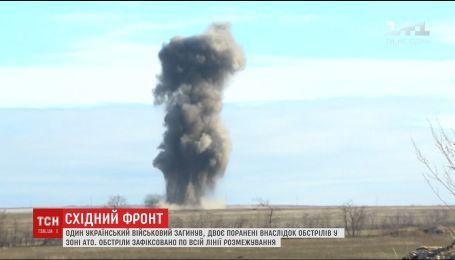 На фронті ворог упродовж доби бив по українських позиціях з мінометів та кулеметів