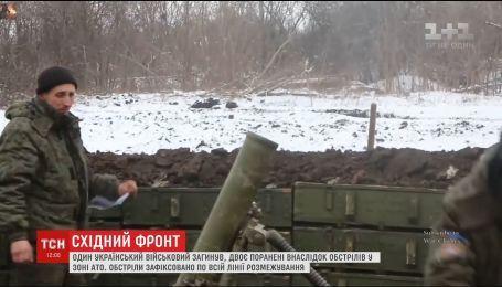 Боевики вели активный обстрел позиций ВСУ на фронте