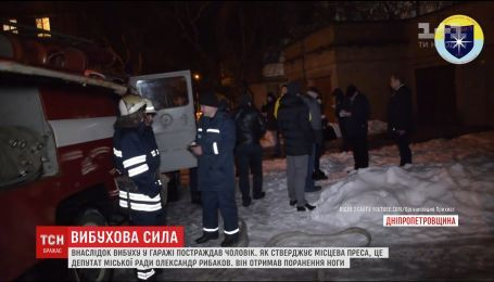 Мужчина, в которого бросили гранаты в Никополе, находится в состоянии средней тяжести в больнице