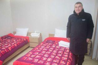 Президент МОК мешкатиме під час Олімпіади-2018 у доволі скромній кімнаті