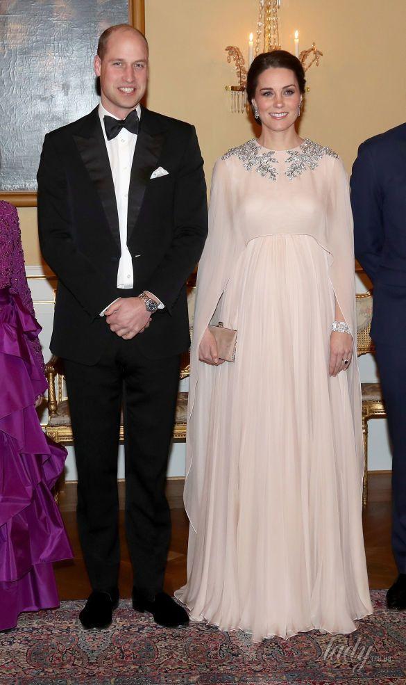 Герцогиня Кембриджская и принц Уильям в Норвегии_9