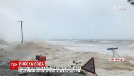 На побережье Новой Зеландии объявили чрезвычайное положение из-за сильного шторма