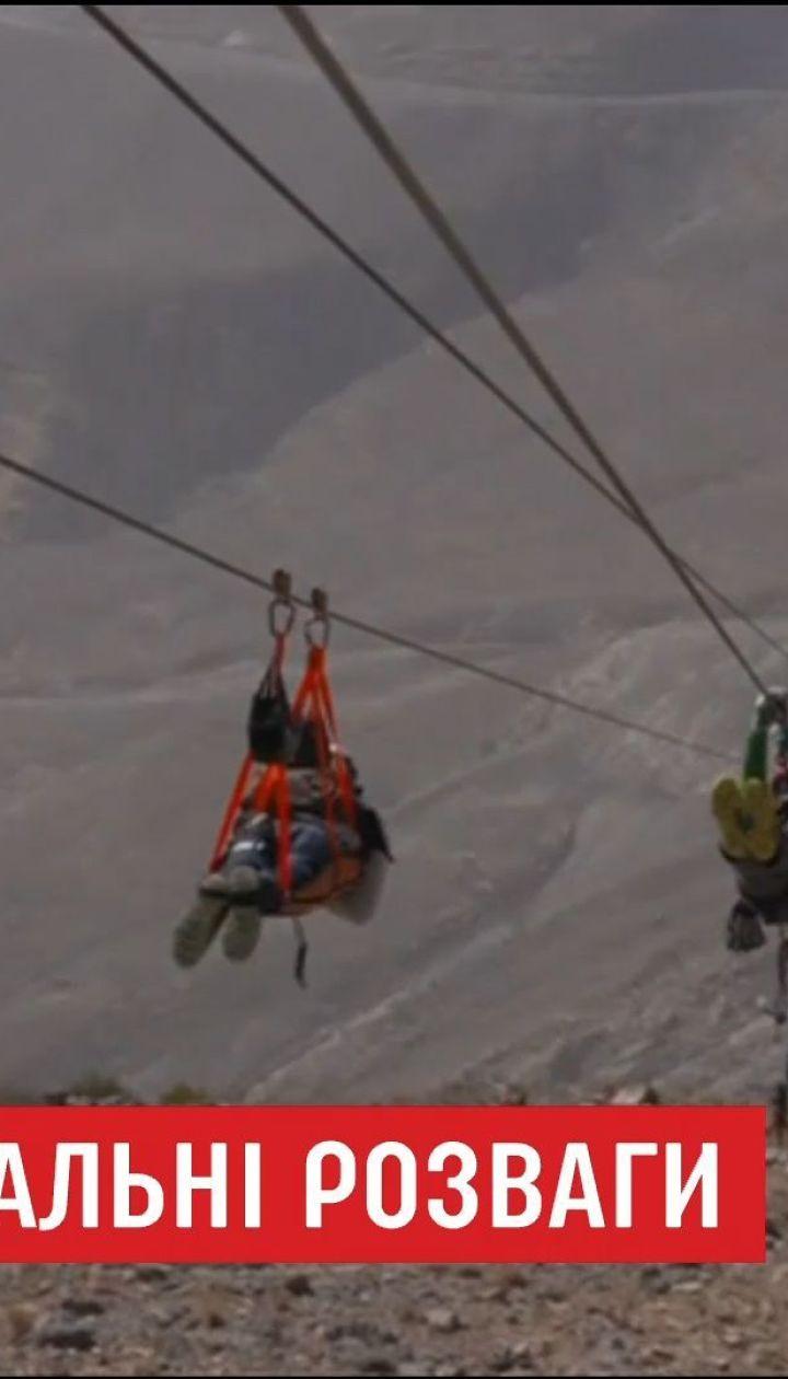 Арабські Емірати відкрили рекордний атракціон