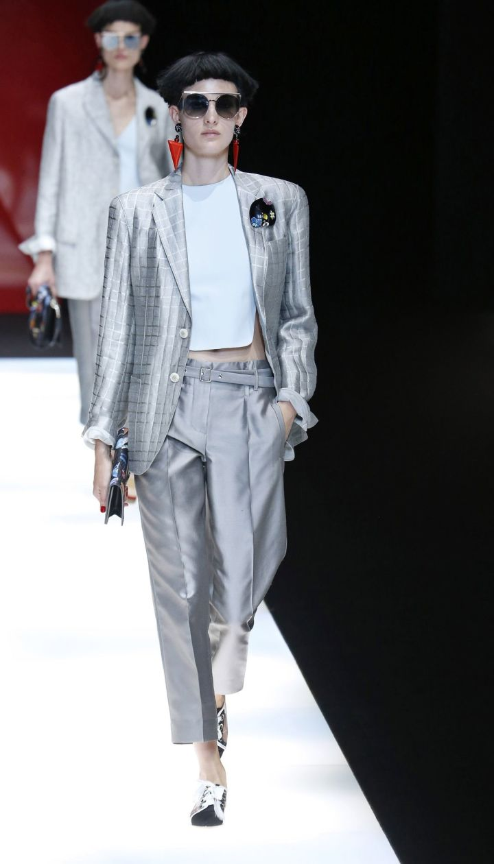 Коллекции Giorgio Armani прет-а-порте сезона весна-лето 2018 @ East News