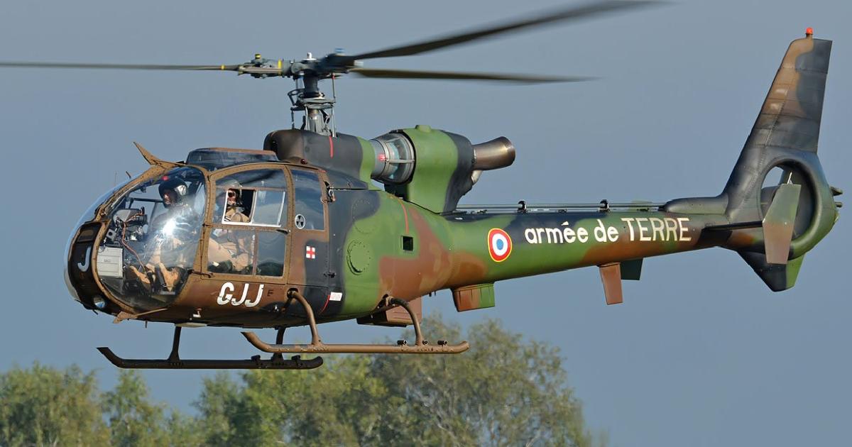 Во Франции разбились два военных вертолета: погибли по меньшей мере пять человек