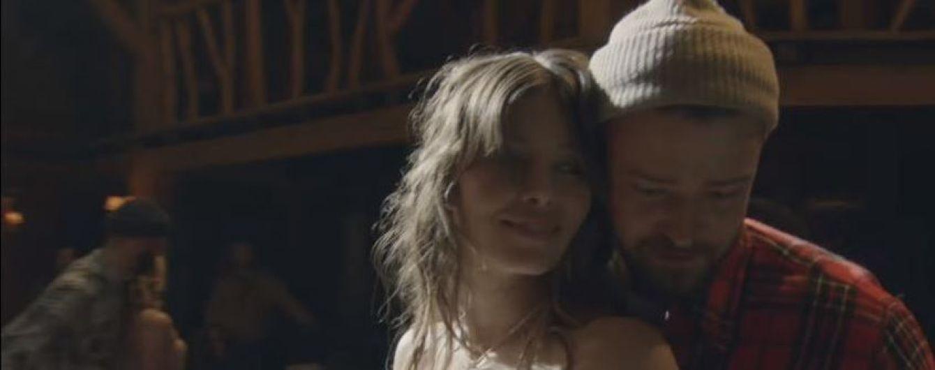 Романтика зашкаливает: Тимберлейк впервые снял жену-актрису в трогательном клипе