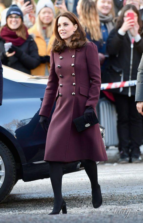 Герцогиня Кембриджская и принц Уильям в Норвегии