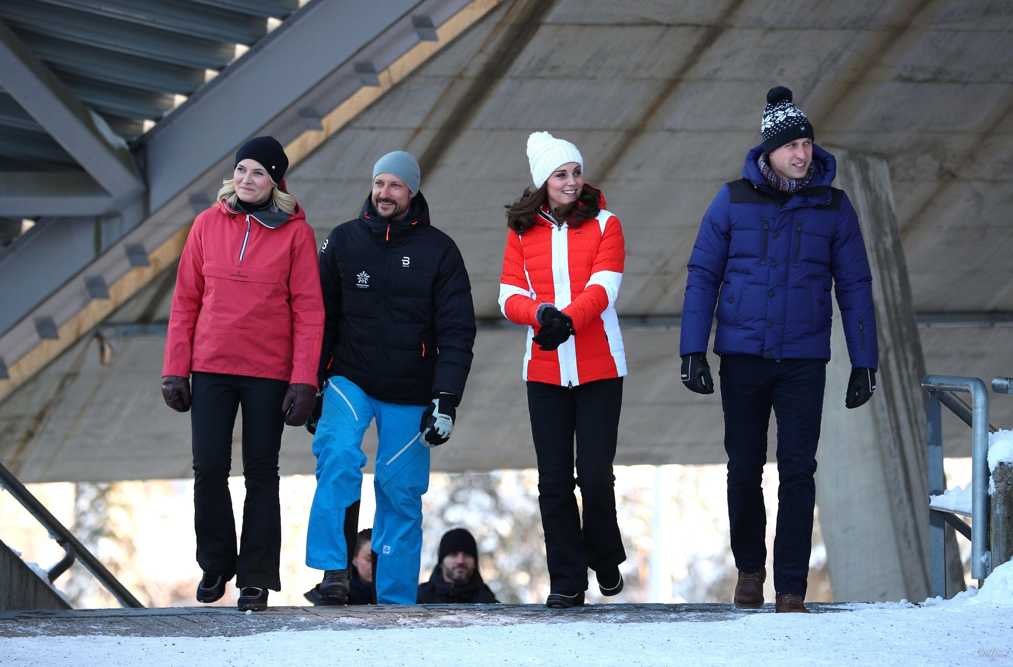 Герцогиня Кембриджская и принц Уильям в Норвегии_7