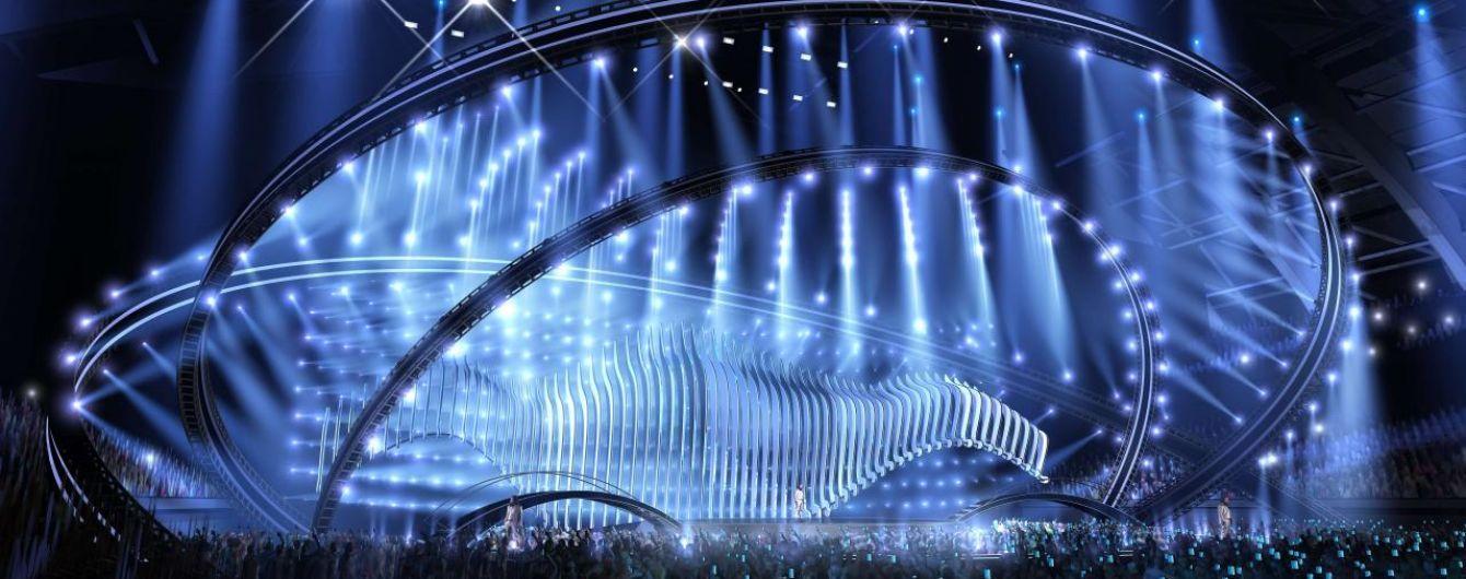 Евровидение 2018: Организаторы представили проект сцены конкурса