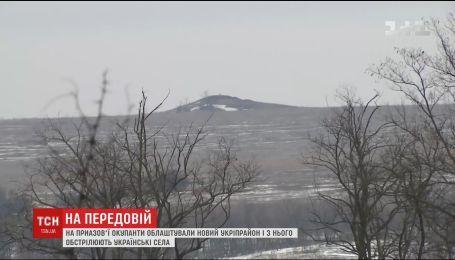 На фронте боевики за время перемирия обустроили новый укрепрайон и обстреливают военных