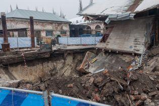 У Харкові будівля провалилася під землю