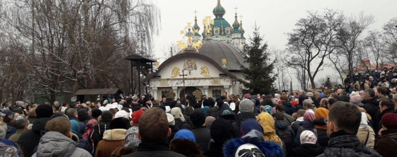 Активісти вимагають знести каплицю УПЦ МП біля Десятинної церкви у Києві