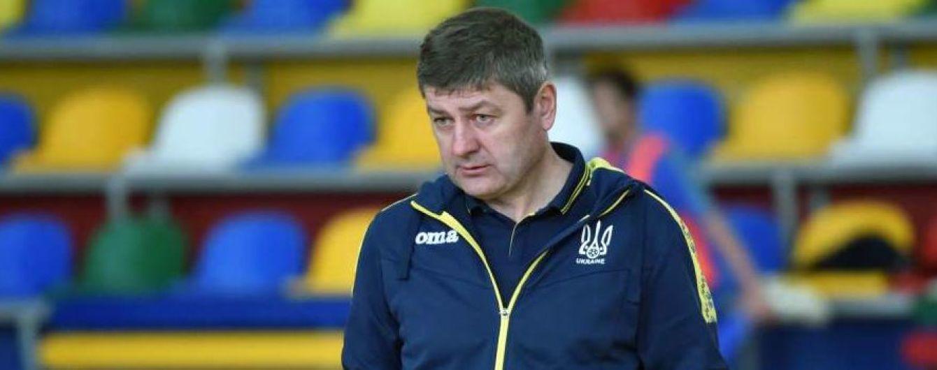 Головний тренер збірної України з футзалу: У нас було багато помилок