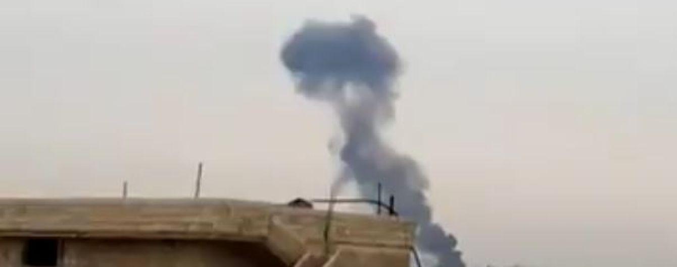 Россия вместо высокоточного оружия могла ударить по повстанцам в Сирии кассетными бомбами