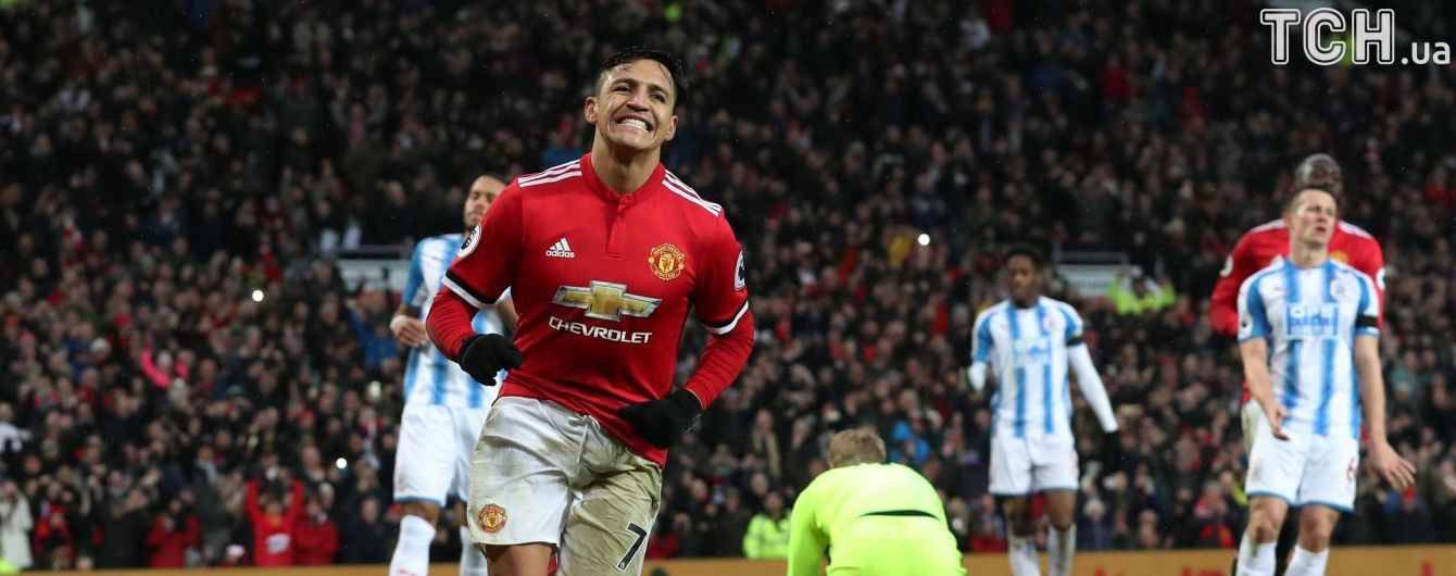 """""""Манчестер Юнайтед"""" уверенно переиграл """"Хаддерсфилд"""" благодаря дебютному голу Санчеса"""