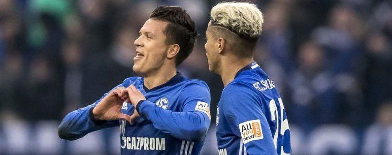 Коноплянка завдяки неймовірному ляпу від воротаря забив у чемпіонаті Німеччини