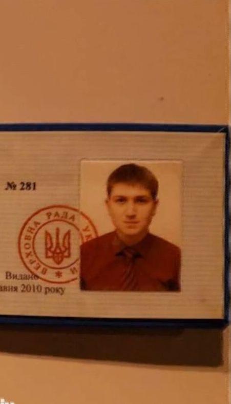 Водитель, совершивший ДТП в Киеве, предоставил полиции ненастоящее удостоверение советника депутата
