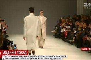 Возвращение 80-х: неделя моды в Киеве обозначила тенденции следующего сезона