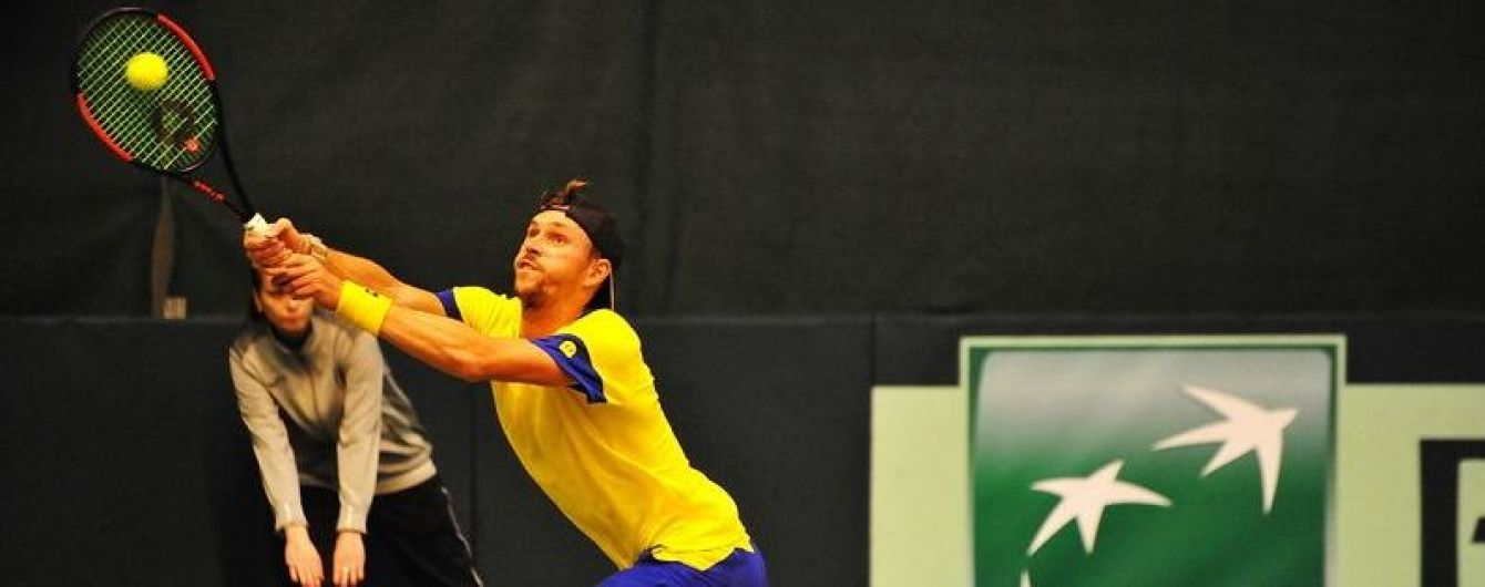 Збірна України з тенісу зазнала поразки у вирішальному матчі проти Швеції на Кубку Девіса