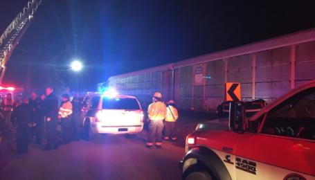 В США возросло количество пострадавших в результате столкновения поездов