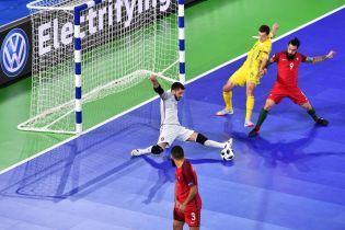 Євро-2018: Збірна України з футзалу з боєм поступилася Португалії та посіла друге місце у групі