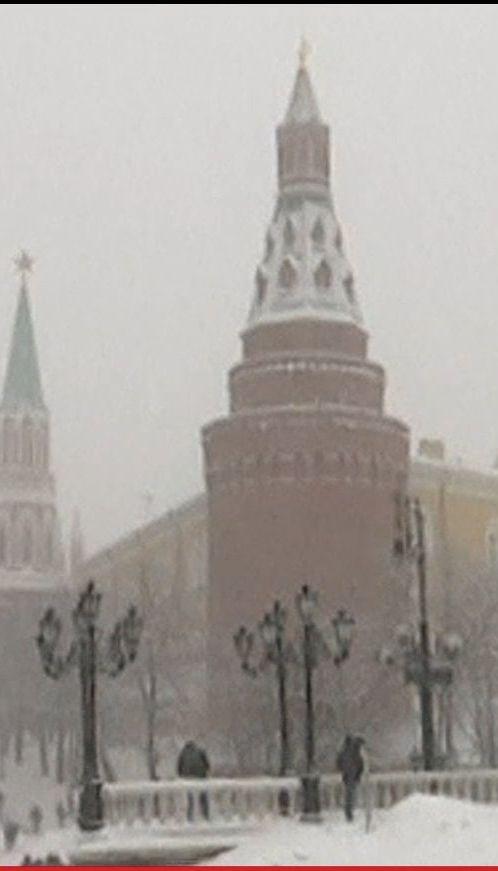 Метель повлекла за собой снежный коллапс в Москве