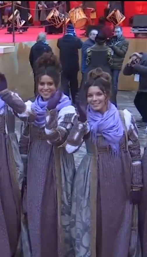 На улицах Венеции начался традиционный карнавал