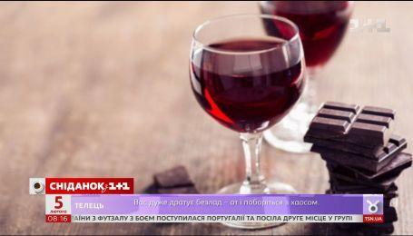 Червоне вино і шоколад – секрети вічної молодості