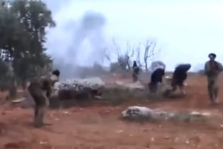 З'явилося відео, на якому  пілот збитого російського Су-25 у Сирії підірвав себе гранатою