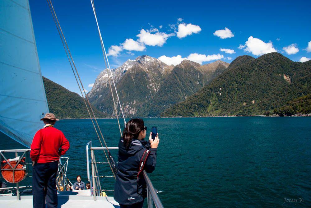 Нова Зеландія, Фіордленд, парк, гори, турист_2