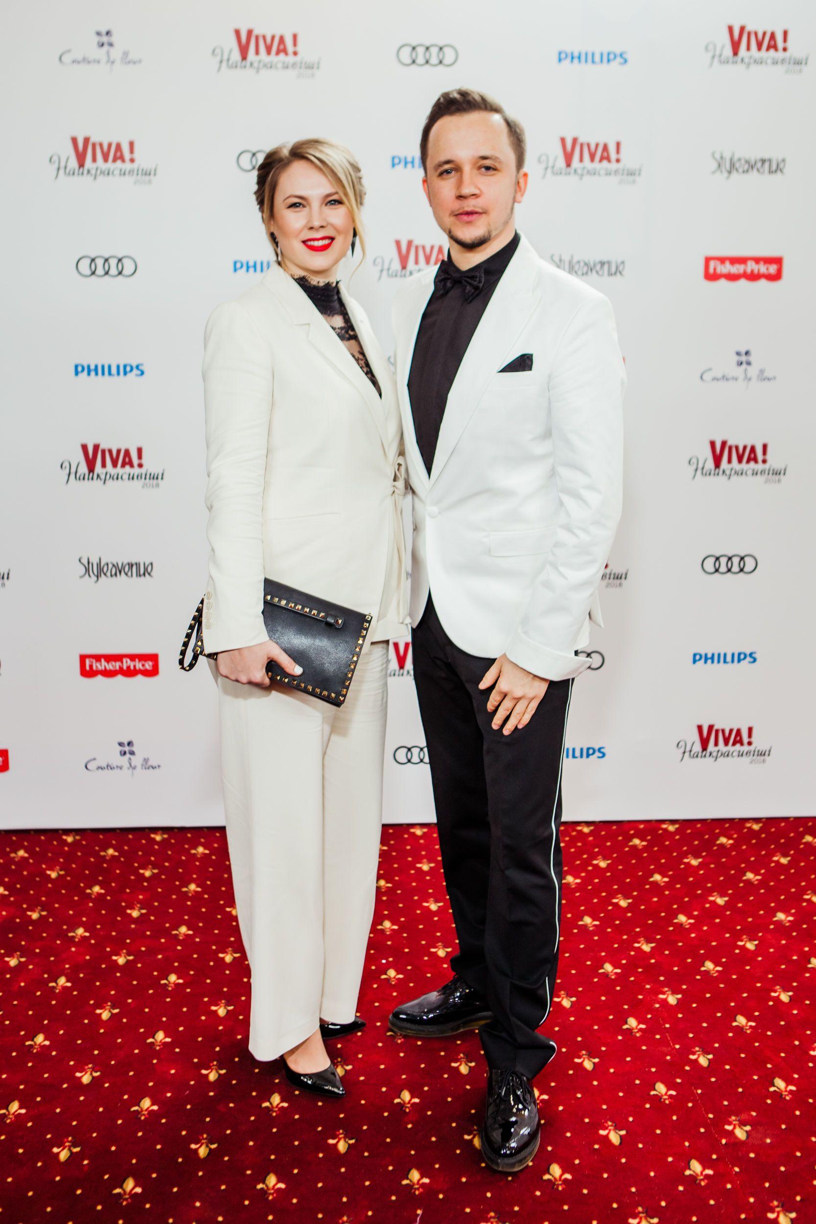 Артем Гагарін з дружиною_1