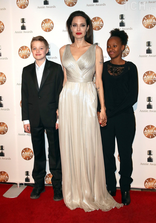 Анджеліна Джолі на премії Annie Awards_2