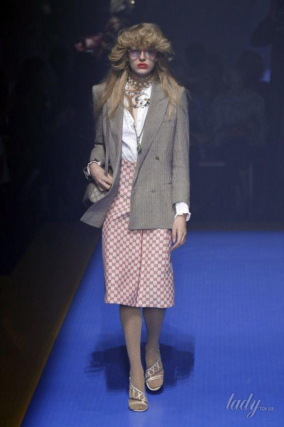 Коллекция Gucci прет-а-порте сезона весна-лето 2018_106