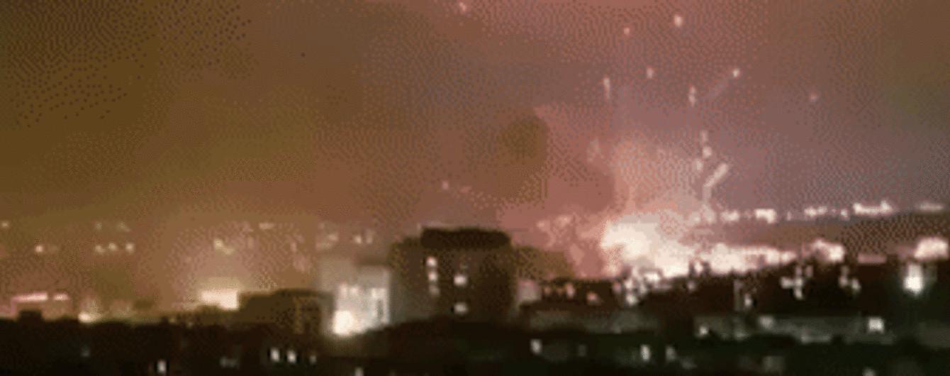В столице Азербайджана произошел мощный взрыв на военном заводе