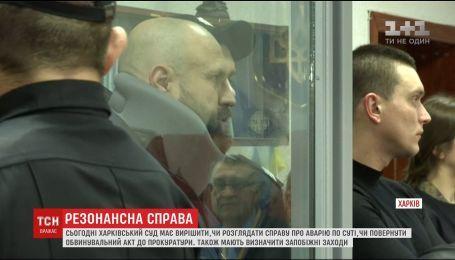 Харьковский суд должен решить судьбу дела о ДТП, в котором погибло 6 пешеходов