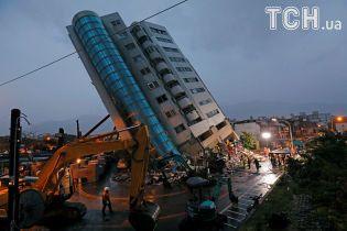 На Тайвані стався вже шостий потужний землетрус за добу