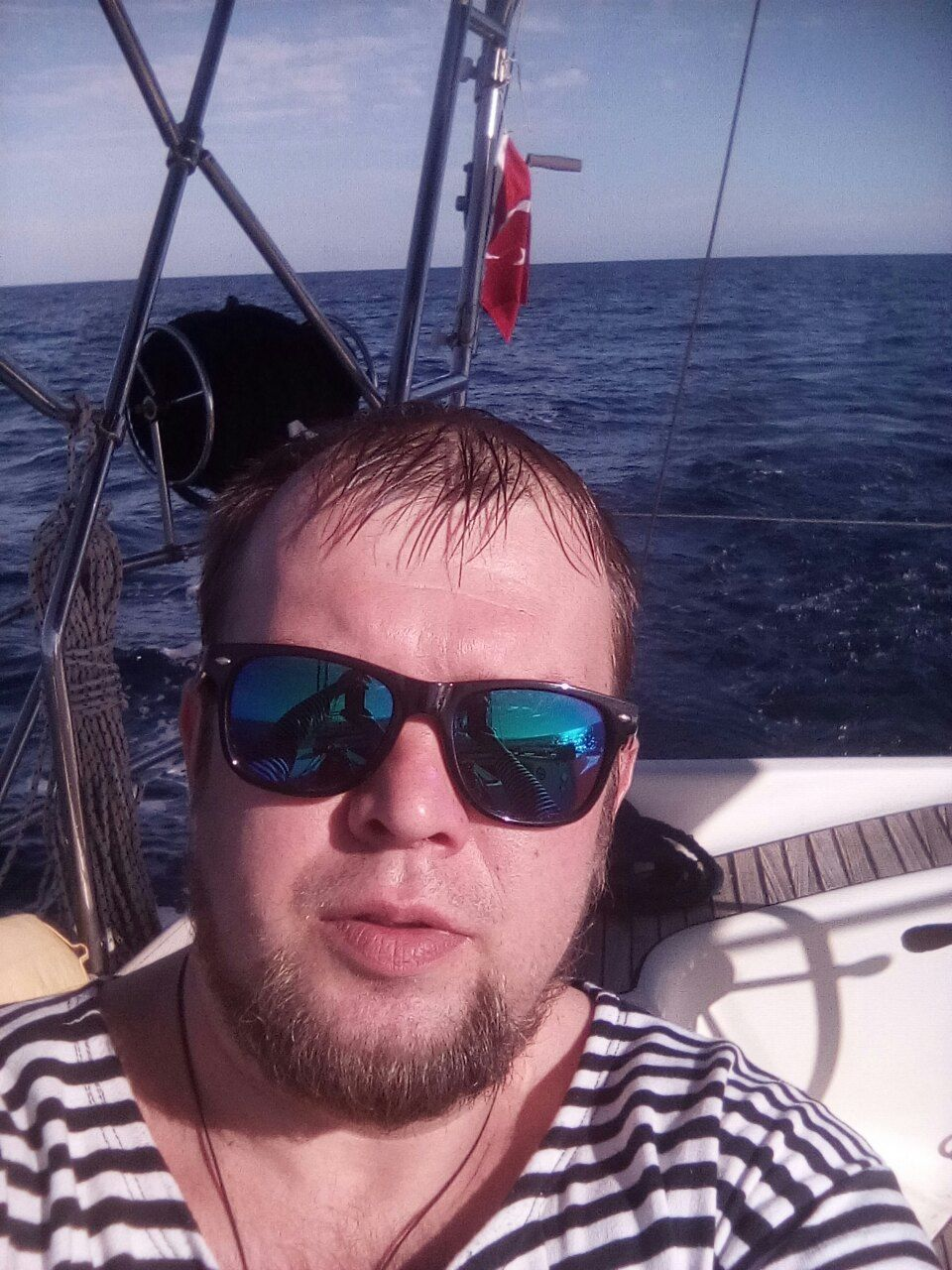 Український моряк Сергій Ульянов