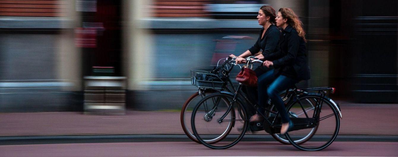 В скоростных поездах Украины запретили перевозить велосипеды