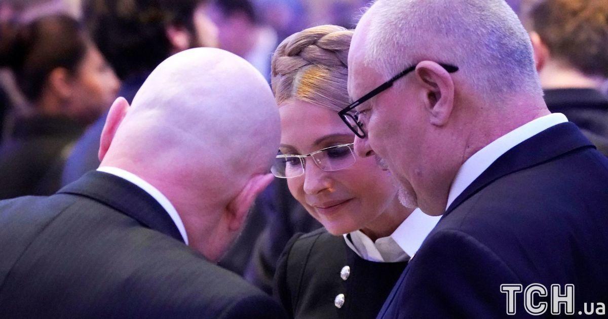 Юлія Тимошенко на молитовному сніданку у Трампа. @ Reuters