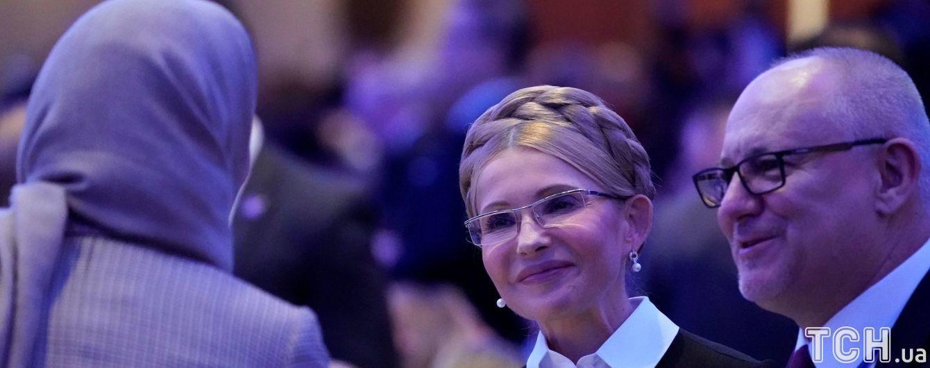 Тимошенко игнорирует вопросы о происхождении денег для лоббистов из США